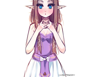 adorable, pretty, and zelda image
