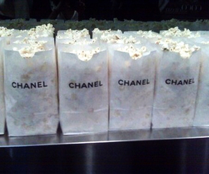 chanel, popcorn, and food image