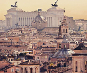 rome and travel image