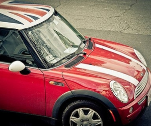 mini cooper, car, and OMG image