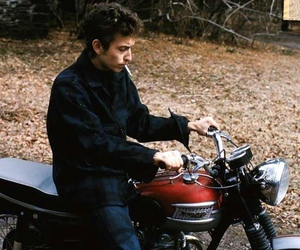 bob dylan, 60s, and cigarette image