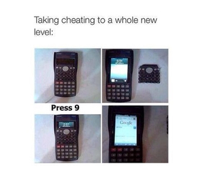 cheating, funny, and phone image