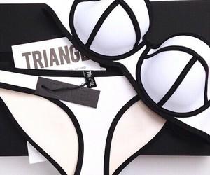 triangl, fashion, and bikini image