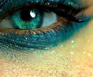 blue, eye, and eyes image
