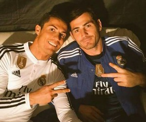 iker and christiano ronaldo image