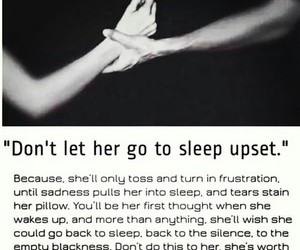 love, sleep, and sad image