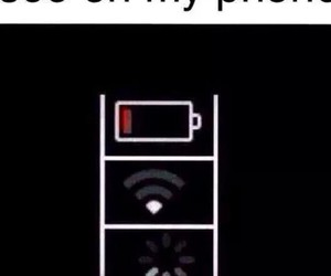 phone, iphone, and wifi image