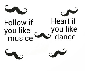 dance, follow, and heart image