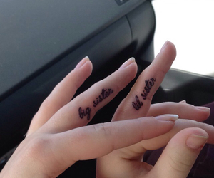 forever, inked, and sister image