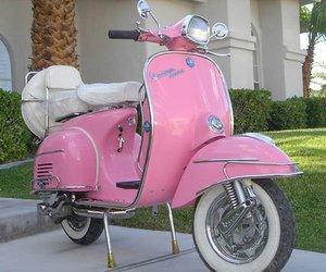 pink and Vespa image