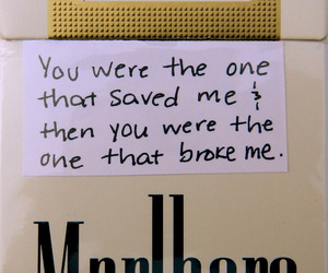 cigarette, quote, and grunge image