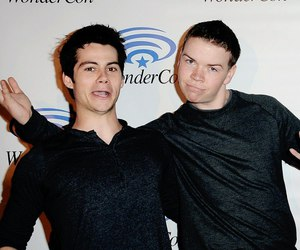 teen wolf, dylan o'brien, and will poulter image