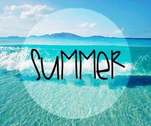 summer, beach, and sea image