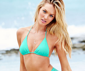 summer, candice swanepoel, and model image