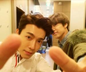 donghae, eunhyuk, and superjunior image