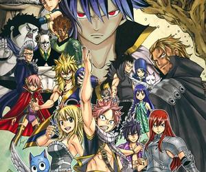 fairy tail, manga, and zeref image