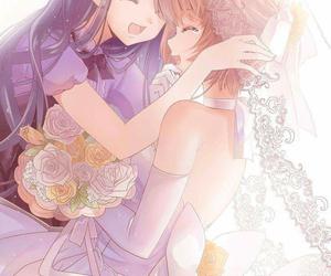 kawaii, purple, and marriage image