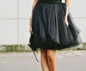 skirt, girl, and fashion image