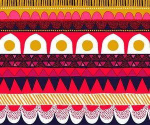 colorful, red, and marimekko image