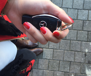 car, fashion, and mercedes image
