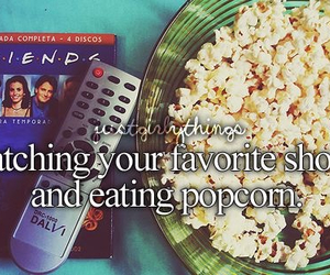 popcorn, friends, and just girly things image