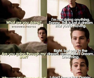 teen wolf, danny, and funny image