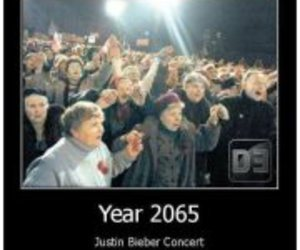 justin bieber, concert, and beliebers image