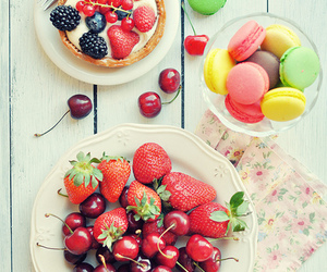 cherry, berries, and food image