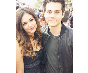 bethany mota, dylan o'brien, and teen wolf image