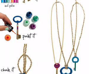 diy, key, and necklace image
