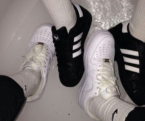 adidas, nike, and aesthetic image