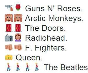 arctic monkeys, Queen, and radiohead image