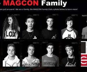 magcon, family, and cameron image