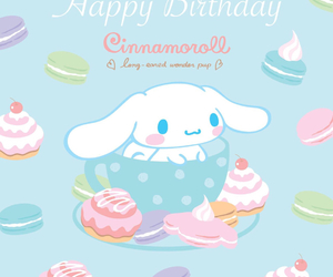 cinnamoroll and sanrio image