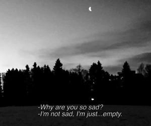sad, empty, and grunge image