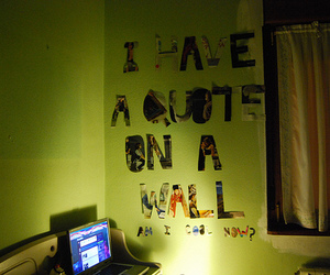 am, funny, and room image