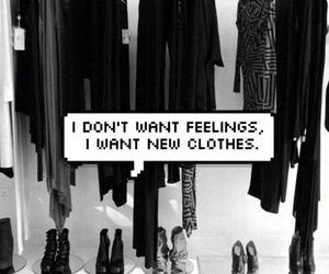 clothes, black, and feelings image