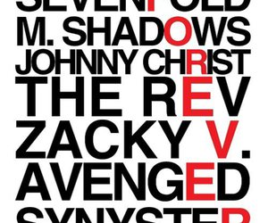 avenged sevenfold, the rev, and forever image