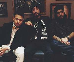 jus reign, mickey singh, and up north boys image