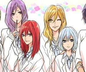 anime, kuroko no basket, and fem image