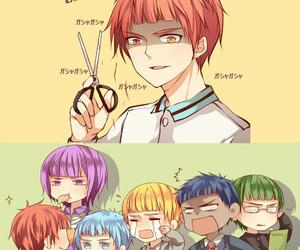 kuroko no basket, Akashi, and anime image