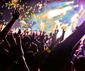 party, concert, and fun image