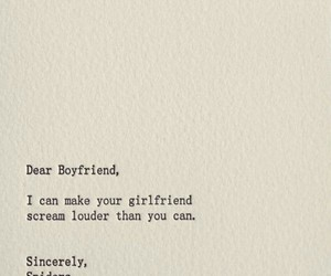 black and white, boyfriend, and funny image