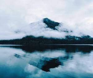 escape, lake, and mirror image