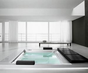 luxury, white, and black image