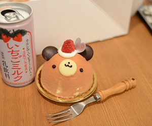 cute and food image