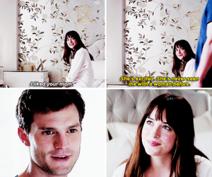 fifty shades of grey, Jamie Dornan, and quote image