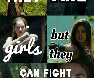 hermione, katniss, and hazel grace lancaster image