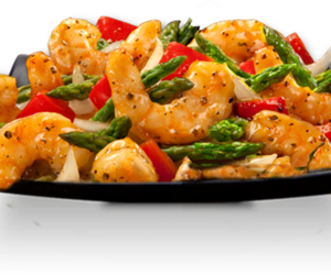 food and shrimps image