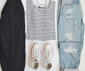 clothes, converse, and jacket image